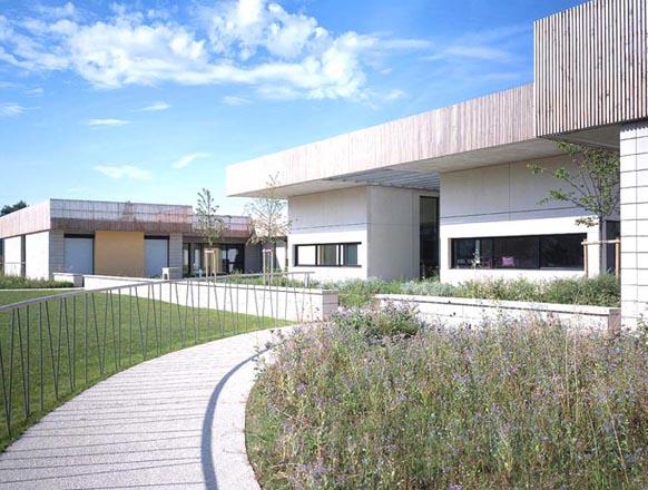 Maison d 39 accueil specialisee de 44 lits les projets for Architecte coulommiers